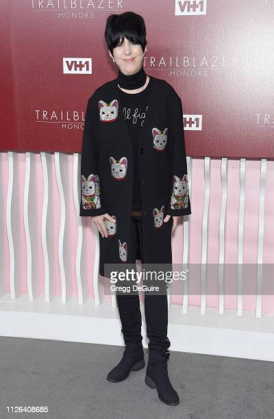 Diane Warren arrives at VH1 Trailblazer Honors at The Wilshire Ebell Theatre on February 20 2019 in Los Angeles California