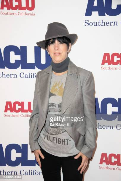 Diane Warren attends ACLU's Annual Bill Of Rights Dinner at the Beverly Wilshire Four Seasons Hotel on November 11 2018 in Beverly Hills California