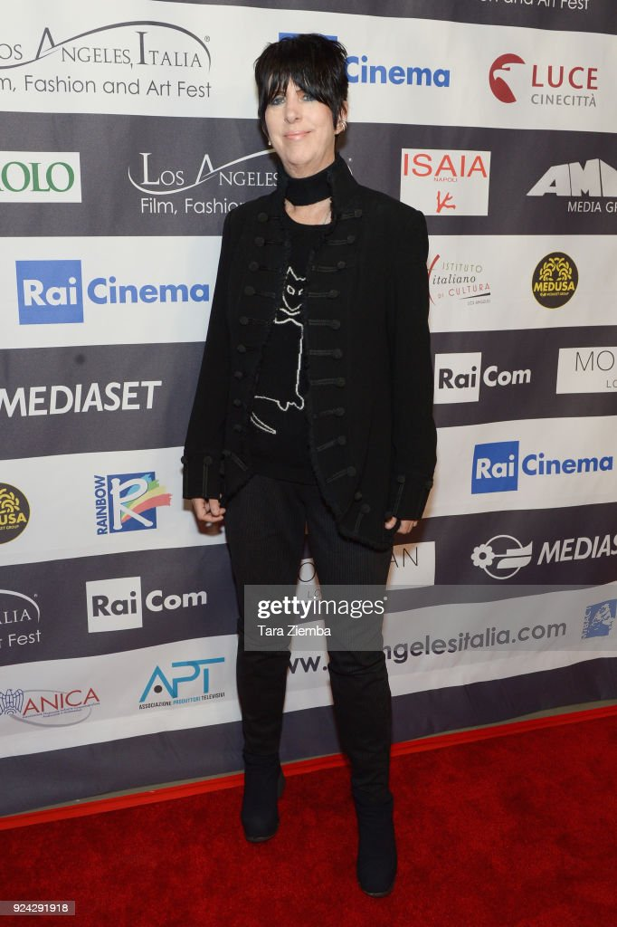 Diane Warren attends the 13th Annual L.A. Italia Fest Film Fest opening night premiere of 'Hotel Gagarin' at TCL Chinese 6 Theatres on February 25, 2018 in Hollywood, California.