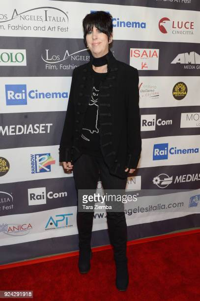 Diane Warren attends the 13th Annual LA Italia Fest Film Fest opening night premiere of 'Hotel Gagarin' at TCL Chinese 6 Theatres on February 25 2018...