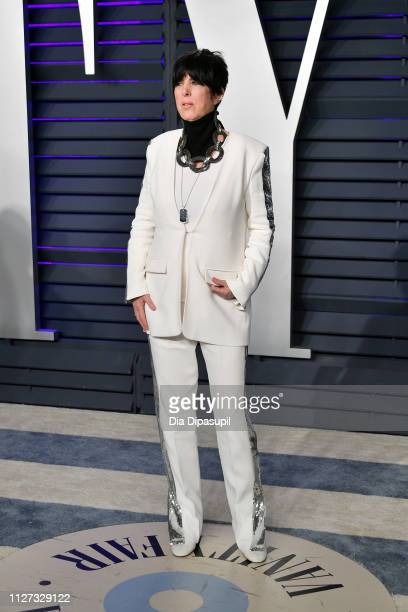 Diane Warren attends the 2019 Vanity Fair Oscar Party hosted by Radhika Jones at Wallis Annenberg Center for the Performing Arts on February 24 2019...