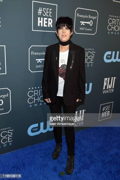 Diane Warren attends the 25th Annual Critics' Choice Awards at Barker Hangar on January 12 2020 in Santa Monica California