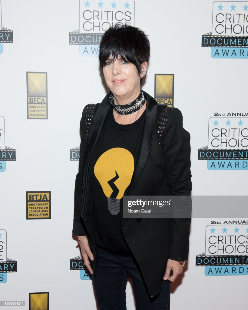 Diane Warren attends the 2nd Annual Critic's Choice Documentary Awards on November 2, 2017 in New York City.