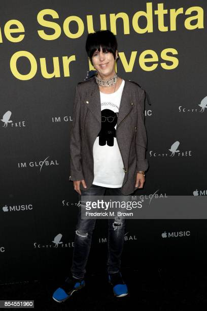 Diane Warren attends the Apple Music Los Angeles Premiere Of 'Clive Davis The Soundtrack Of Our Lives' at Pacific Design Center on September 26 2017...