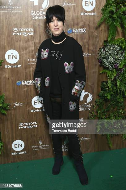 Diane Warren attends the Global Green 2019 PreOscar Gala at Four Seasons Hotel Los Angeles at Beverly Hills on February 20 2019 in Los Angeles...
