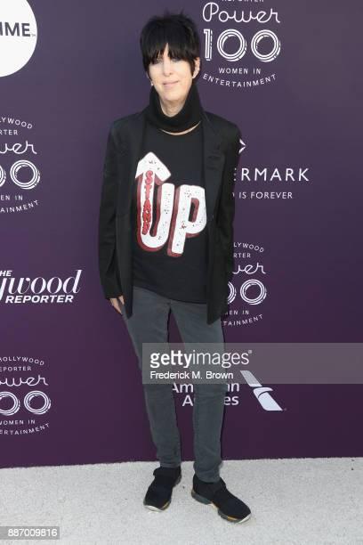 Diane Warren attends The Hollywood Reporter's 2017 Women In Entertainment Breakfast at Milk Studios on December 6 2017 in Los Angeles California