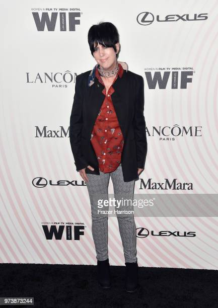 Diane Warren attends the Women In Film 2018 Crystal Lucy Awards presented by Max Mara Lancôme and Lexus at The Beverly Hilton Hotel on June 13 2018...