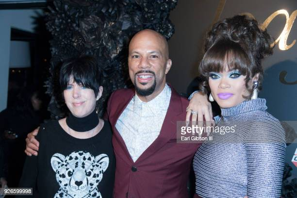 Diane Warren Common and Andra Day attend Toast To The Arts Presented By Remy Martin at Ysabel on March 2 2018 in West Hollywood California