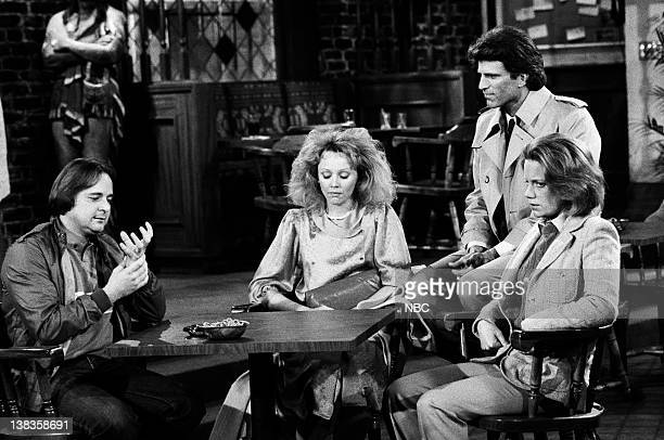 CHEERS Diane's Perfect Date Episode 17 Air Date Pictured Derek McGrath as Andy Schroeder Shelley Long as Diane Chambers Ted Danson as Sam Malone...