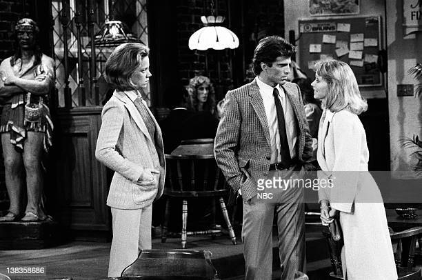 CHEERS Diane's Perfect Date Episode 17 Air Date Pictured Gretchen Corbett as Gretchen Darrow Ted Danson as Sam Malone Shelley Long as Diane Chambers