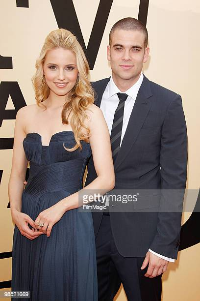 Dianna Agron and Mark Salling arrive to the 8th Annual TV Land Awards held at Sony Pictures Studios on April 17 2010 in Culver City California