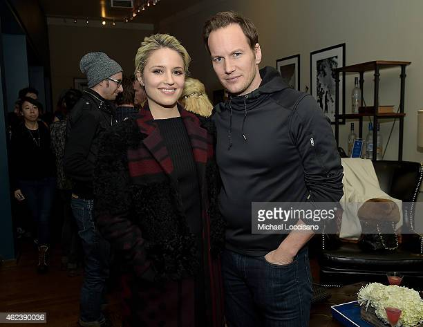 Dianna Agron and Patrick Wilson attend the Zipper cast party at GREY GOOSE Blue Door during Sundance on January 27 2015 in Park City Utah