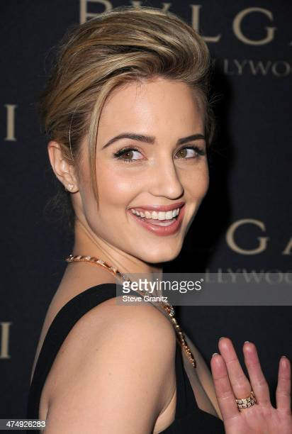 Dianna Agron arrives at the BVLGARI 'Decades Of Glamour' Oscar Party Hosted By Naomi Watts at Soho House on February 25 2014 in West Hollywood...