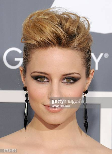 Dianna Agron arrives for the 53rd Annual GRAMMY Awards at the Staples Center February 13 2011 in Los Angeles California