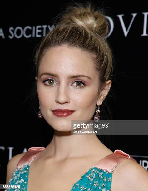 Dianna Agron attends Miu Miu The Cinema Society host a screening of Sony Pictures Classics' Novitiate at The Landmark at 57 West on October 26 2017...