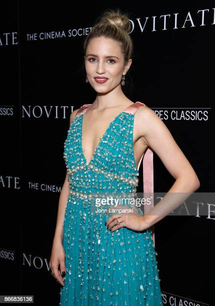 Dianna Agron attends Miu Miu The Cinema Society host a screening of Sony Pictures Classics' 'Novitiate' at The Landmark at 57 West on October 26 2017...