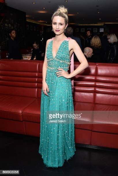 Dianna Agron attends Miu Miu The Cinema Society host the after party for Sony Pictures Classics' Novitiate at The Lambs Club on October 26 2017 in...