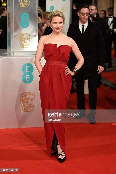 Dianna Agron attends the EE British Academy Film Awards at The Royal Opera House on February 8 2015 in London England