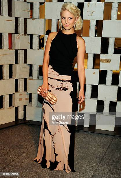Dianna Agron attends the Hammer Museum 12th Annual Gala in the Garden at the Hammer Museum on October 11, 2014 in Los Angeles, California.