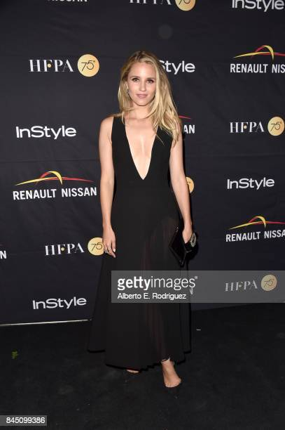 Dianna Agron attends the HFPA InStyle annual celebration of 2017 Toronto International Film Festival at Windsor Arms Hotel on September 9 2017 in...