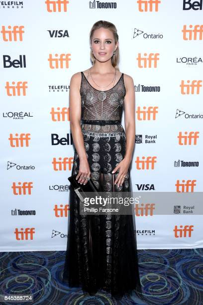 Dianna Agron attends the 'Novitiate' premiere during the 2017 Toronto International Film Festival at Scotiabank Theatre on September 10 2017 in...