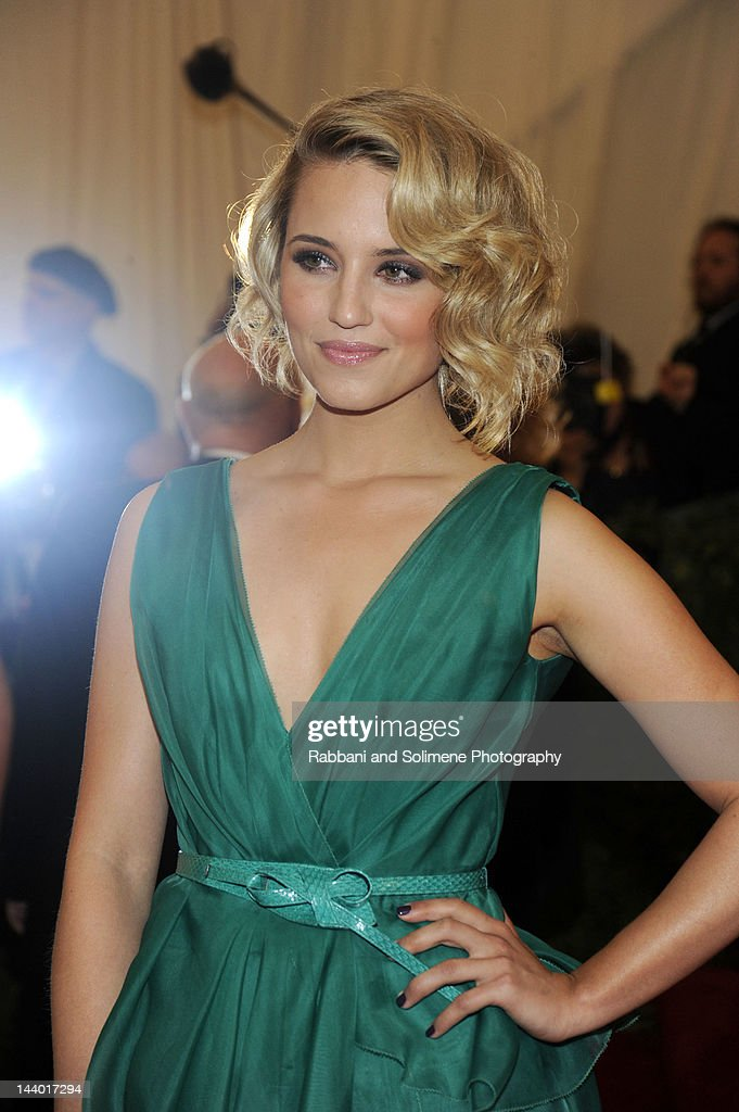 Dianna Agron attends the 'Schiaparelli And Prada: Impossible Conversations' Costume Institute Gala at the Metropolitan Museum of Art on May 7, 2012 in New York City.