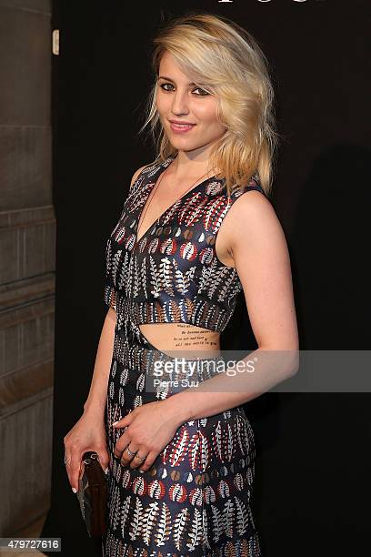 Dianna Agron attends The Vogue Paris Foundation Gala at Palais Galliera on July 6, 2015 in Paris, France.