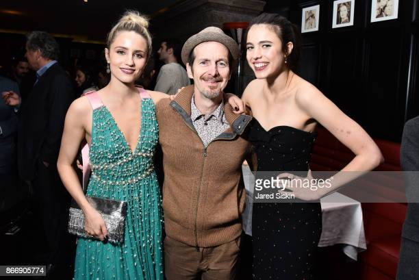 Dianna Agron Denis O'Hare and Margaret Qualley attend Miu Miu The Cinema Society host the after party for Sony Pictures Classics' 'Novitiate' at The...