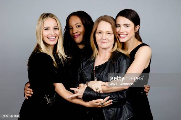 Dianna Agron Melissa Leo Margaret Qualley and Maggie Betts from the film 'Novitiate' poses for a portrait at the 2017 Toronto International Film...