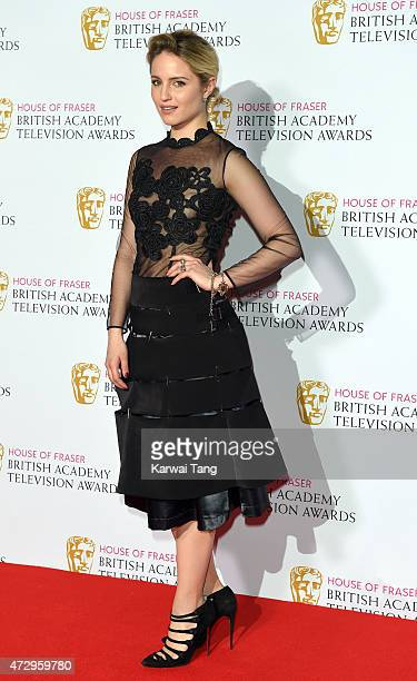 Dianna Agron poses in the winners room at the House of Fraser British Academy Television Awards at Theatre Royal on May 10, 2015 in London, England.