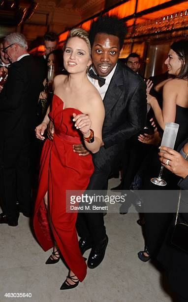 Dianna Argon and Adrien Sauvage attend The Weinstein Company Entertainment Film Distributor StudioCanal 2015 BAFTA After Party in partnership with...