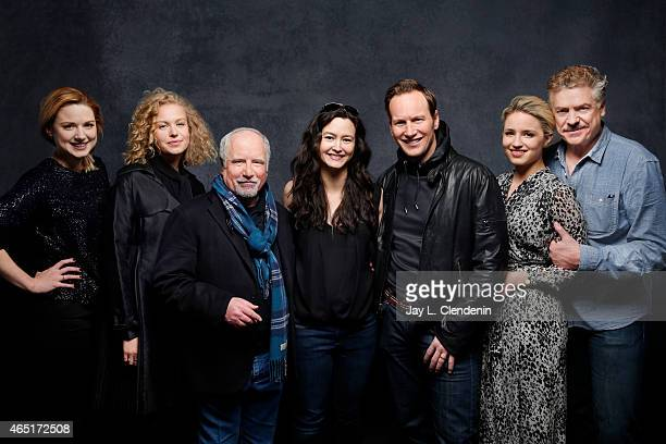 Dianna Argon Patrick Wilson Mora Stephens Penelope Mitchell Ricahrd Dreyfuss Christopher McDonald and Alexandra Breckenridge from the film 'Zipper'...
