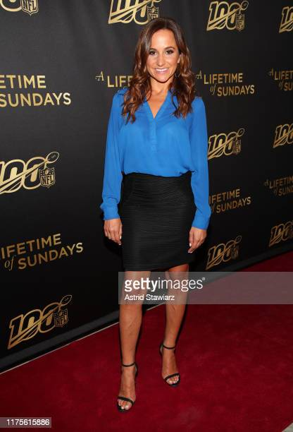 Dianna Russini attends A Lifetime Of Sundays New York Screening at The Paley Center for Media on September 18 2019 in New York City