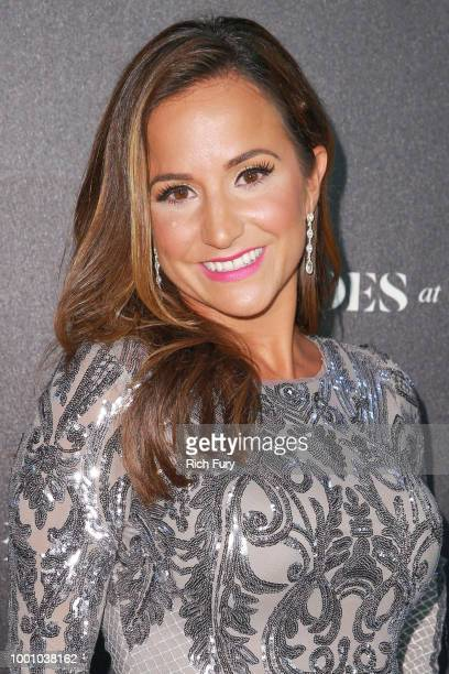 Dianna Russini attends Heroes at the ESPYS at City Market Social House on July 17 2018 in Los Angeles California