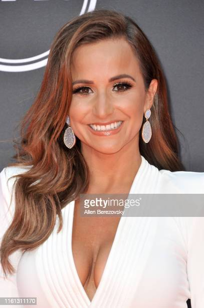 Dianna Russini attends the 2019 ESPY Awards at Microsoft Theater on July 10 2019 in Los Angeles California