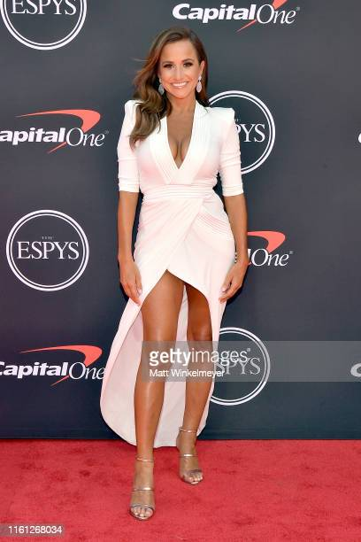 Dianna Russini attends The 2019 ESPYs at Microsoft Theater on July 10 2019 in Los Angeles California