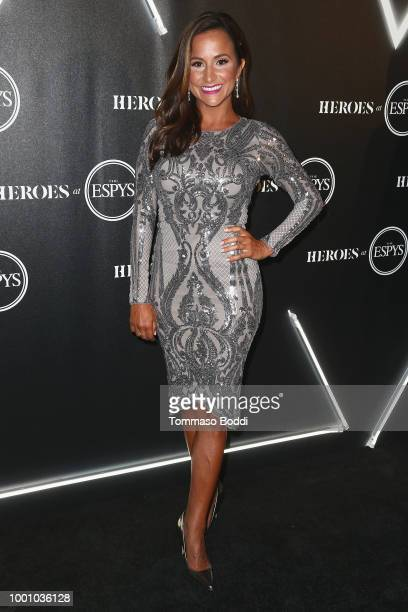 Dianna Russini attends the ESPN's HEROES At THE ESPYS Official PreParty at City Market Social House on July 17 2018 in Los Angeles California