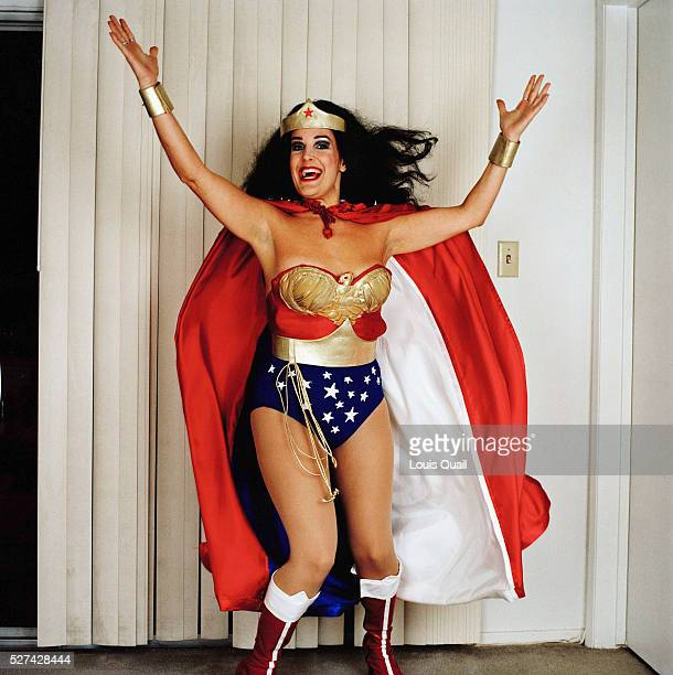 Dianna Weiss Lives in Hollywood and makes a living by dressing up as Wonder Woman posing for pictures on Hollywood Boulevard as well as a being a...