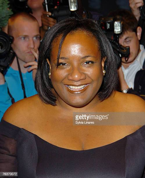 Dianne Abbott attends the London Black Leaders' Dinner at The Dorchester on August 28 2007 in London