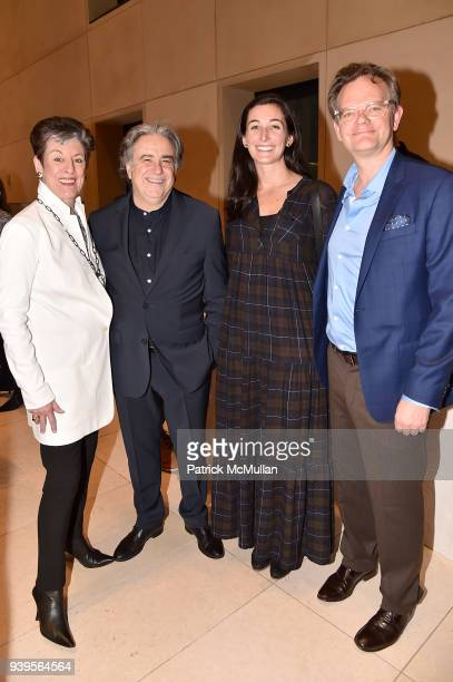 Dianne Benson Lee Skolnick Mariah Whitmore and Nick Martin attend the LongHouse Reserve New York Benefit Honoring Axel Vervoort at Hearst Tower on...