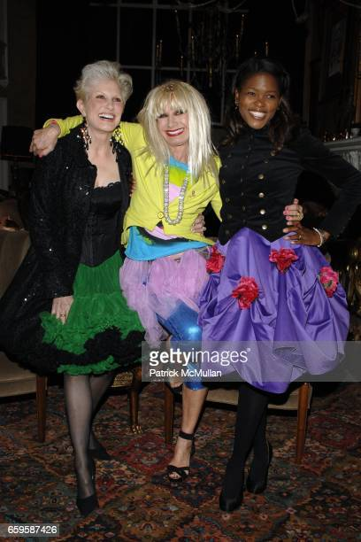 Dianne Bernhard Betsey Johnson and Chrishaunda Lee attend THE NATIONAL ARTS CLUB Honor BETSEY JOHNSON with a Lifetime Achievement Award at National...
