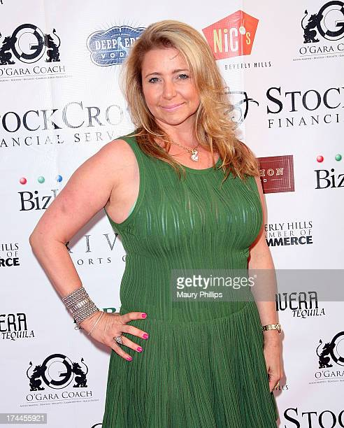 Dianne Burnett arrives at the 40th Anniversary StockCross Party on July 25 2013 in Beverly Hills California