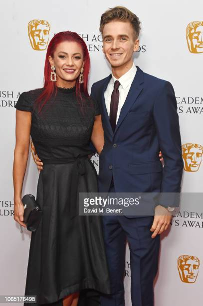 Dianne Buswell and Joe Sugg attend The British Academy Children's Awards 2018 at The Roundhouse on November 25 2018 in London England