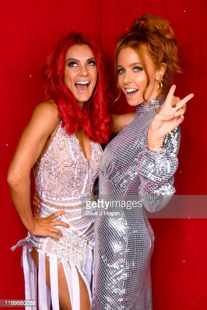 Dianne Buswell and Stacey Dooley during the Strictly Come Dancing Arena Tour 2020 at Arena Birmingham on January 15 2020 in Birmingham England
