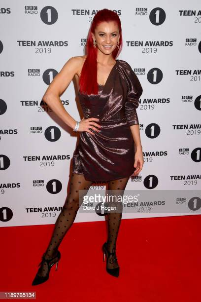 Dianne Buswell attends BBC Radio 1's Teen Awards 2019 on November 24 2019 in London United Kingdom