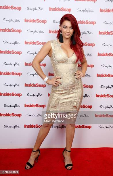 Dianne Buswell attends the Inside Soap Awards held at The Hippodrome on November 6 2017 in London England