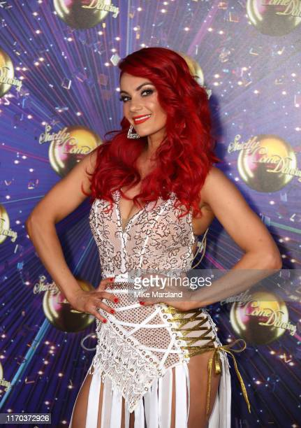 Dianne Buswell attends the Strictly Come Dancing launch show red carpet at Television Centre on August 26 2019 in London England