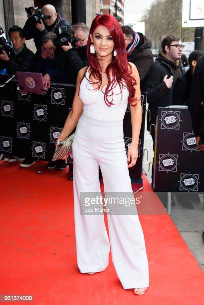 Dianne Buswell attends the TRIC Awards 2018 held at The Grosvenor House Hotel on March 13 2018 in London England