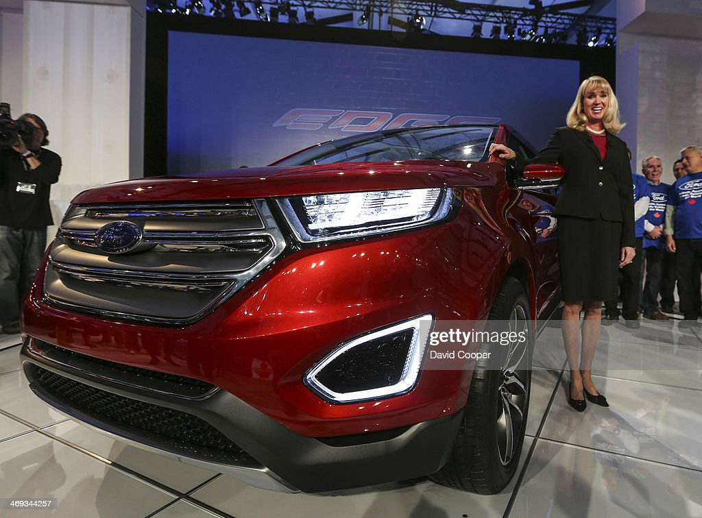 The New Ford Edge Concept Under Raps Before The Big Reveal