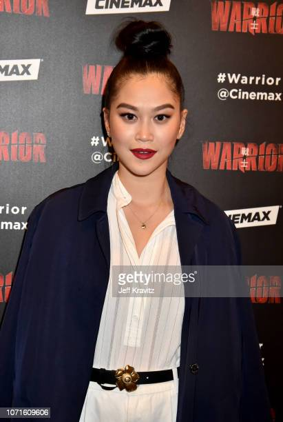Dianne Doan at the Cinemax Sneak Peek of Warrior With Justin Lin Shannon Lee and Jonathan Tropper at Arclight Hollywood on December 10 2018 in...